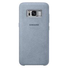 Protégez votre Samsung Galaxy S8 Plus à l'aide de cette coque officielle Samsung Alcantara en coloris menthe. Très élégante et protectrice, cette coque est l'accessoire parfait pour préserver votre Samsung Galaxy S8 Plus à l'abri des dangers du quotidien.