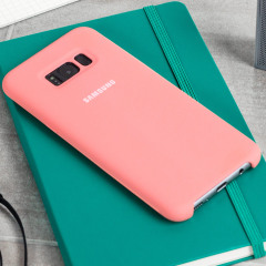 Protect your Samsung Galaxy S8 with this Official silicone case in pink. Simple yet stylish, this case is the perfect accessory for your S8.