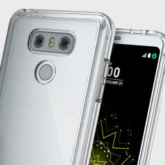 Protect the back and sides your sleek LG G6 with this incredibly durable and clear backed Fusion Case by Ringke.