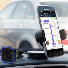 Olixar DriveTime Samsung Galaxy J3 2017 Car Holder & Charger Pack