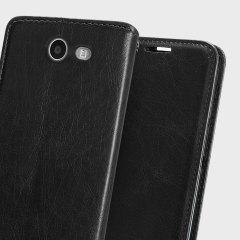 Zizo Leather Style Galaxy J3 2017 Wallet Case - Black - US Version