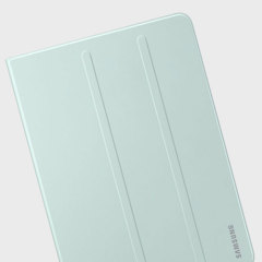 Keep your Samsung Galaxy Tab S3 protected from damage with this official green Samsung book cover with integrated multi-level stand.