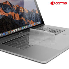 Keep your MacBook Pro 15 with Touch Bar keyboard safe from dust, debris and scratches with this keyboard protector from Devia.
