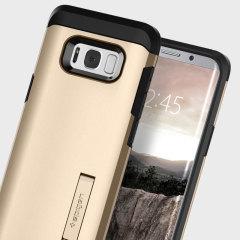 Spigen Tough Armor Samsung Galaxy S8 Case Hülle in Champagne-Gold