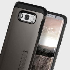 Custodia Tough Armor Spigen per Samsung Galaxy S8 - Nero