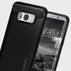 Spigen Rugged Armor Samsung Galaxy S8 Hülle in Schwarz