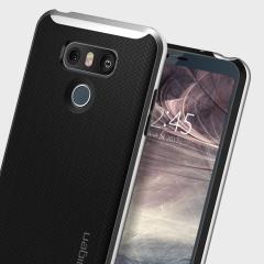Spigen Neo Hybrid LG G6 Case - Satin Silver