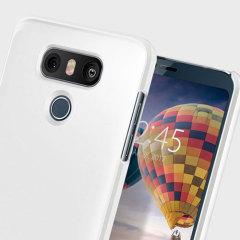 Custodia Thin Fit Spigen per LG G6 - Bianco
