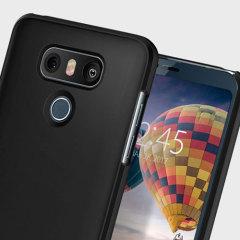 Custodia Thin Fit Spigen per LG G6 - Nero