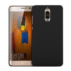 Huawei Mate 9 Pro Rubberised Back Hard Case - Black