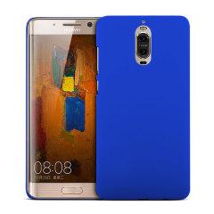 Huawei Mate 9 Pro Rubberised Back Hard Case - Blue