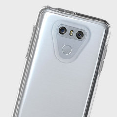 The dual-material construction makes the Symmetry clear case for the LG G6 one of the slimmest yet most protective case in its class. The Symmetry series has the style you want with the protection your phone needs.