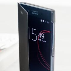 Roxfit Sony Xperia XZ Premium Pro Touch Book Case - Black