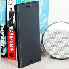 Roxfit Urban Book Sony Xperia XZ Premium Slim Case Hülle in Schwarz