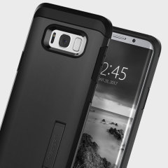 Custodia Tough Armor Spigen per Samsung Galaxy S8 Plus - Nero