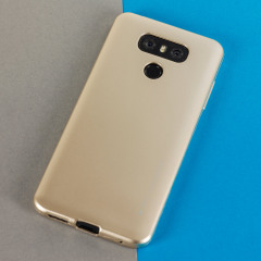 Mercury Goospery iJelly LG G6 Gel Case - Gold
