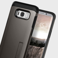 Funda Samsung Galaxy S8 Plus Spigen Tough Armor - Metalizada