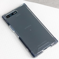 "This officially licensed case from Roxfit, combines a clear shock absorbing shell with a rubber 'bumper' to provide superb all-round protection for the Sony Xperia XZ Premium. Part of the ""Made for Xperia"" program."