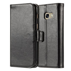 Protect you Samsung A3 2016 in sophisticated comfort & style with the MrMobile leather-style folio wallet case. Store cards, ID, cash & other essentials in the wallet case making it perfect for everyday use & the premium leather style for any occasion.