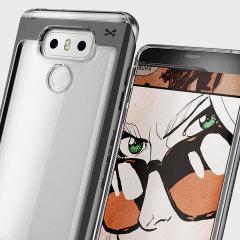 Ghostek Cloak 2 Series LG G6 Aluminium Tough Case - Clear / Black