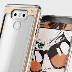 Ghostek Cloak 2 Series LG G6 Aluminium Tough Case - Clear / Gold