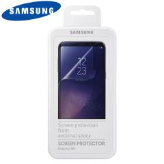 Houdt het scherm van je Samsung Galaxy S8 Plus in onberispelijke staat met deze officiële Samsung krasbestendige screen protector.