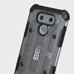UAG Plasma LG G6 Protective Skal - Glaciär / Svart