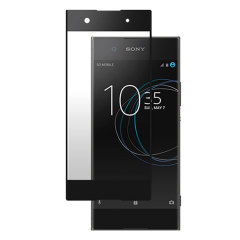 "This ultra-thin premium Japanese Asahi tempered glass screen protector in black from Roxfit for the Sony Xperia XA1 offers toughness, high visibility and sensitivity all in one package. Part of the ""Made for Xperia"" program."