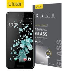 Este protector ultra delgado de pantalla de vidrio templado para el HTC U Play de Olixar ofrece dureza, alta visibilidad y sensibilidad en un solo paquete.
