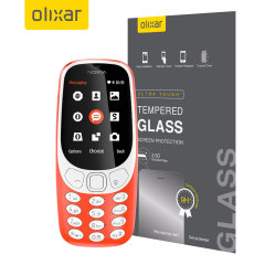 This ultra-thin tempered glass screen protector for the Nokia 3310 2G 2017 from Olixar offers toughness, high visibility and sensitivity all in one package.