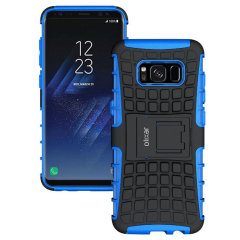 ArmourDillo Samsung Galaxy S8 Plus Protective Case in Blau