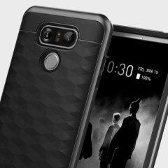 Bescherm je LG G6 met deze prachtige premium dual layer shell case. Gemaakt met hard dubbel gelaagd, maar slank materiaal, dit harde lichaam met een slanke metalen bumper heeft een aantrekkelijke tweekleurige afwerking.