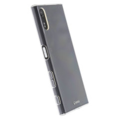 Krusell Bovik Sony Xperia XZs / XZ Shell Case Hülle 100% Transparent