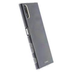 Esta funda 100% clara y delgada hechade TPU duradero proporciona una excelente protección para su Sony Xperia XZs / XZ, conservando el diseño original y elegante del teléfono