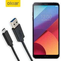 Zorg ervoor dat uw LG G6 altijd volledig is opgeladen en gesynchroniseerd met deze compatibele USB 3.1 Type-C Male naar USB 3.0 mannelijke kabel. U kunt deze kabel gebruiken met een USB-wandlader of via uw desktop of laptop.