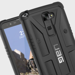 The Urban Armour Gear Pathfinder black rugged case for the LG Stylo 2 features a classic tough-looking, composite design with a soft impact-absorbing core and hard exterior that provides superior protection in all situations.