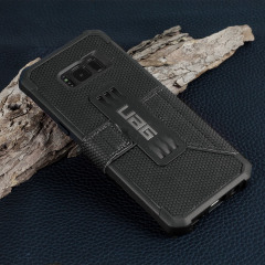 UAG Metropolis Rugged Samsung Galaxy S8 Wallet Case - Zwart