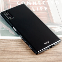 Custom moulded for the Sony Xperia XZs, this solid black Olixar FlexiShield case provides slim fitting and durable protection against damage.