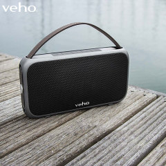 The Veho M7 Bluetooth wireless speaker truly has to be heard to be believed. Dual acoustic drivers and 2 10W speakers give the M7 an absolutely massive sound, while the build is lightweight and compact - perfect for travel or just relaxing at home.