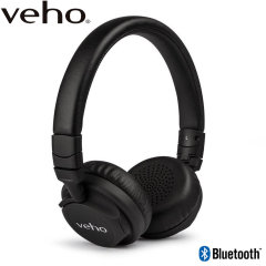Veho ZB-5 Wireless Bluetooth On-Ear Headphones - Black