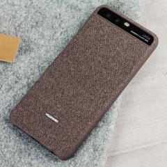 Original Huawei P10 Plus Fabric Hülle in Braun
