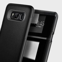 Caseology Envoy Series Samsung Galaxy S8 Hülle - Carbon Fiber Schwarz