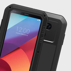 Protect your LG G6 with one of the toughest and most protective cases on the market, ideal for helping to prevent possible damage from water and dust - this is the black Love Mei Powerful Protective Case.