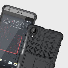 Protect your HTC Desire 650 from bumps and scrapes with this black ArmourDillo case. Comprised of an inner TPU case and an outer impact-resistant exoskeleton, the ArmourDillo not only offers sturdy and robust protection, but also a sleek modern styling.