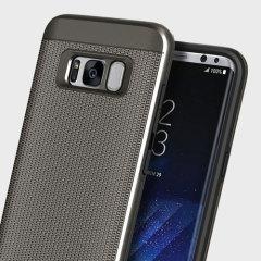 Obliq Slim Meta Samsung Galaxy S8 Case Hülle - Gunmetal