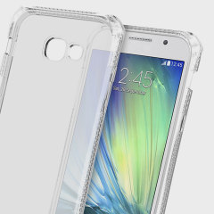 Experience superior protection for your Samsung Galaxy A3 2017 with the 100% clear Spectrum case from ITSKINS. Drop test certified over 6ft, this case will show off the unique design of your device and provide shock and drop resistance.