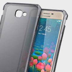 Experiencia de protección superior para su Samsung Galaxy J5 Prime negra ahumada de ITSKINS. Con el certificado anti-caídas, esta funda va a mostrar el diseño único de su dispositivo y proporcionar resistencia a golpes y caídas.