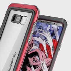 Ghostek Atomic 3.0 Samsung Galaxy S8 Plus Waterproof Case - Red