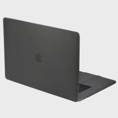 The Nude case in smoke black for MacBook Pro 13 inch with Touch Bar provides tough, lightweight protection and great functionality.