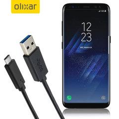 Zorg ervoor dat uw Samsung Galaxy S8 Plus altijd volledig opgeladen en gesynchroniseerd is met deze compatibele USB 3.1 Male Male Cable USB Male Male Cable. U kunt deze kabel gebruiken met een USB-oplader of via uw bureaublad of laptop.